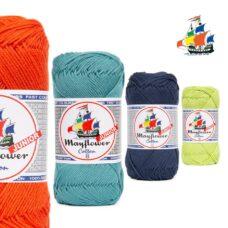 Cotton 8/4 Mayflower Junior - ny