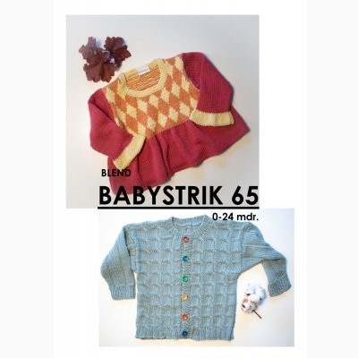 Babystrik no. 65 Hjertegarn