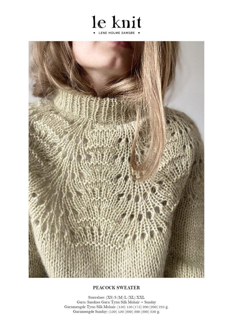 Peacock Sweater Dame1